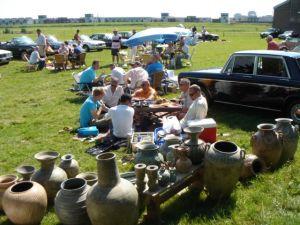 Succesvolle zomerrit met boerderij picknick in 2005