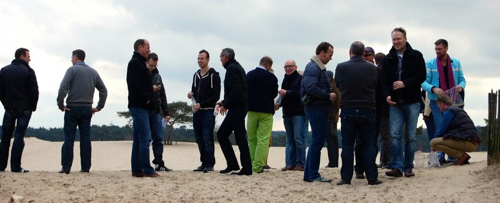 Struinen langs de duinen bij Soest