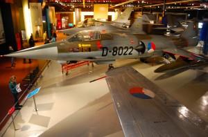F-16's in Militait Luchtvaartmuseum