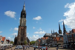 GCCC-klassiekers op marktplein in Delft