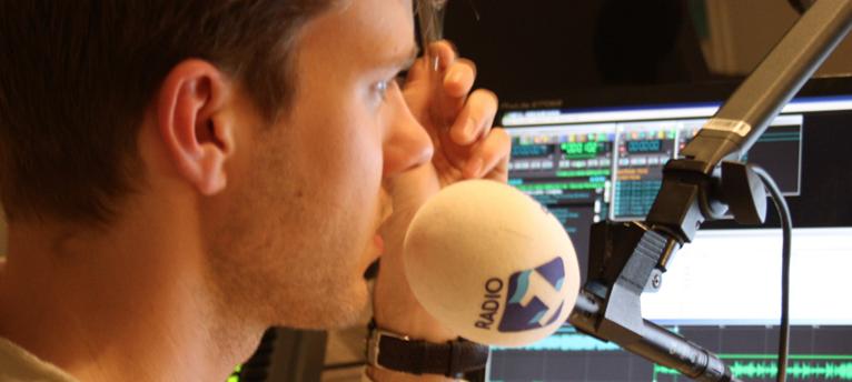 Maarten Dallinga, radiopresentator