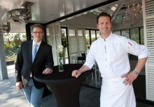 Toon en Rick Sijtsema, de broers achter restaurant La Mère Anne. Foto: Marcel Rob, Noordhollands Dagblad
