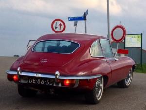 Jaguar E-type van clublid Jorden