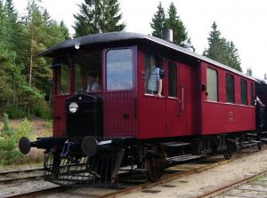 Deense oude trein