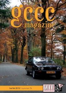 GCCC magazine 74 herfst