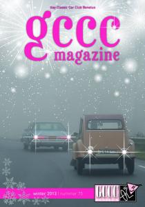 Voorblad GCCC-magazine nr. 75
