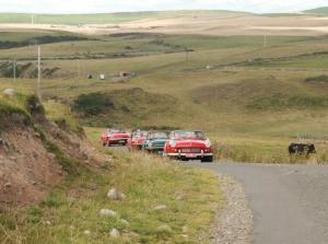 Toeren met je klassieker Triumpf Spitfire door Schotland