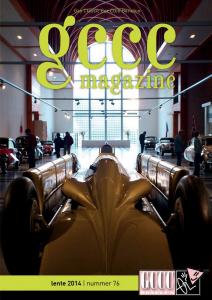 GCCC magazine voorkant nummer 76 lente 2014