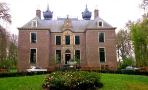 Fotoshoot met klassieke auto's bij kasteel Oud Poelgeest