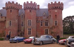 Bezoek aan het kasteel van Villebon