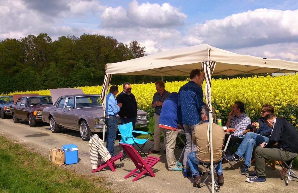 Schitterend weer om onderweg te picknicken tijdens Sweet Trip 2014