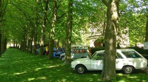 Peugeot 504 break en andere klassiekers van de GCCC bij Poptaslot