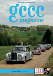 GCCC Magazine voorkant zomernummer 2014 editie 77