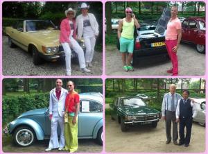 De diverse stijlen tijdens de GCCC-rit Koninklijk gevoel 2014