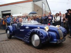 Duurzaamste sportwagen ooit: de Burton EV1