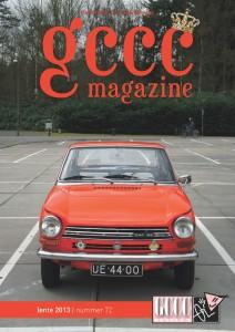GCCC Magazine voorkant nummer 72